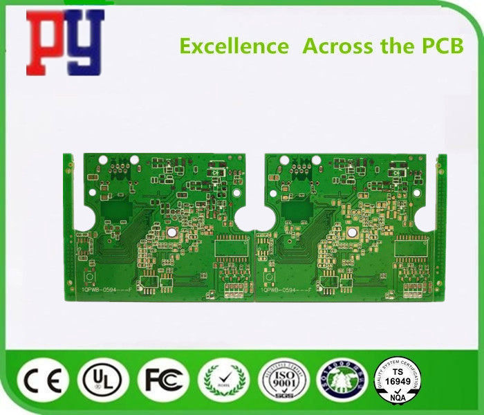 Double Sided FR4 1.0mm Tinned PCB Circuit Board