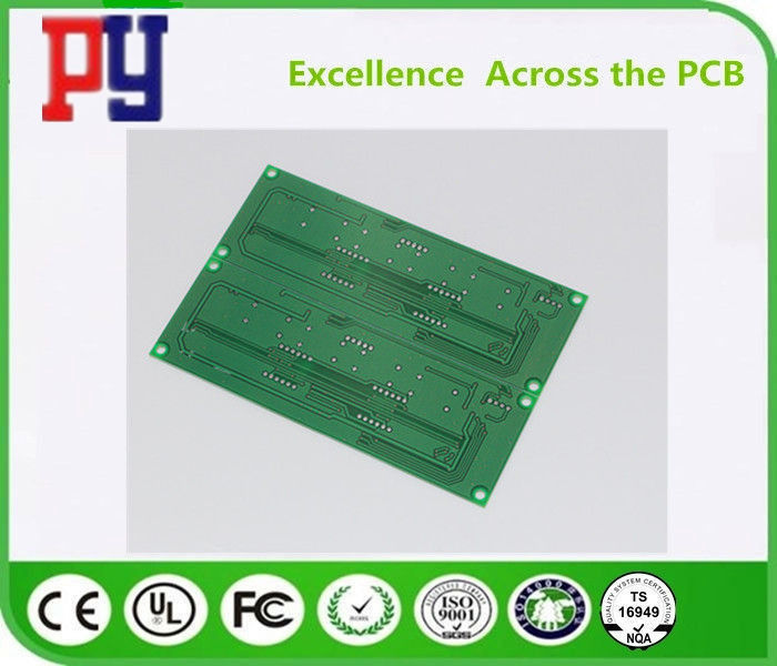 Lead Free Double Sided Printed Circuit Board 2 Layer Rigid 1.6mm Thickness