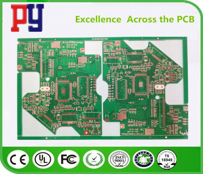 Flexible FR4 PCB Board 2 Layer Rigid Fr4 Base Material With Immersion Tin