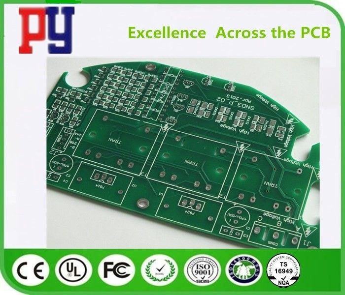 Lead Free Printed Circuit Board Assembly 2 Layer Fr4 Base Material 1oz Copper
