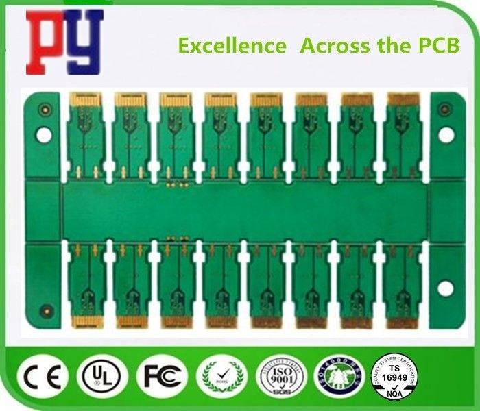 Green Solder Mask Multilayer PCB Circuit Board 6 Layer Fr4 Base Material 1OZ
