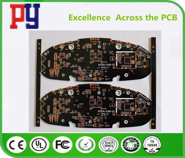 6 Layer Multilayer PCB Circuit Board Fr4 Base Material Immersion Gold Surface