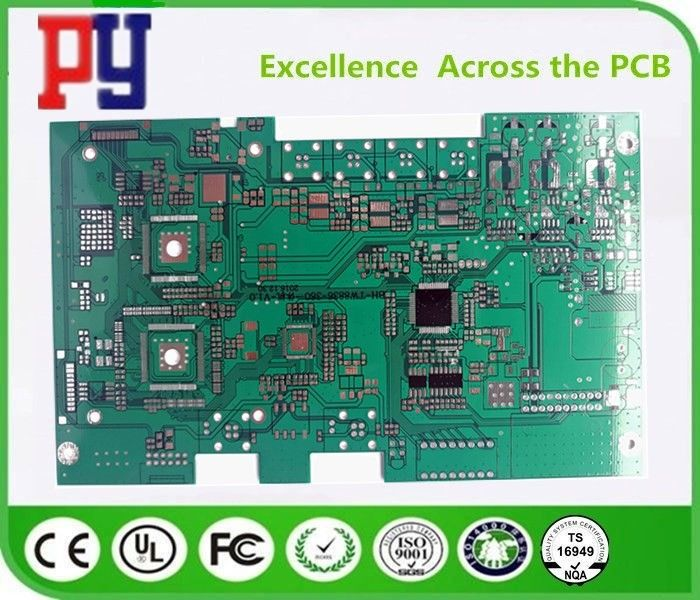 Durable Double Sided Pcb Fabrication Fr4 1~3 Oz Copper Thickness UL ROHS Approval